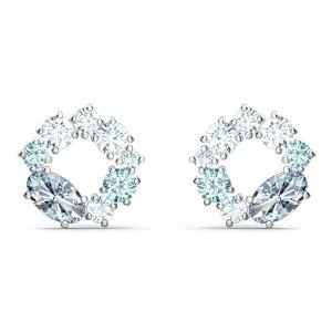 Swarovski水晶环耳饰