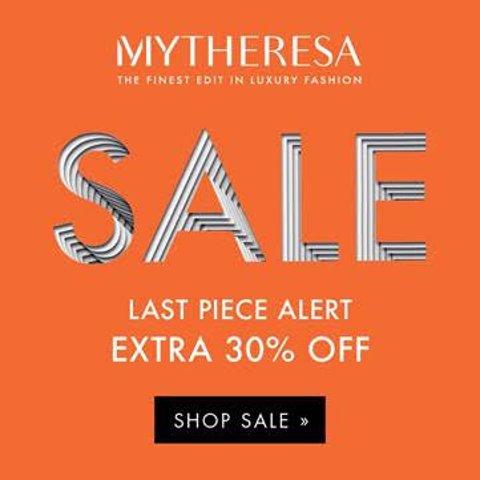 低至3折+额外7折Mytheresa 大牌折上折闪购 收Vetements、SW、Marni等