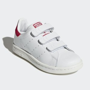 封面搭扣款Stan Smith 两双$44.99adidas之ebay官方店 儿童服饰鞋履促销款买第二件5折