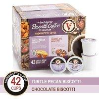 Victor Allen's 咖啡胶囊 K-Cups 胡桃饼干+巧克力饼干口味 42粒装