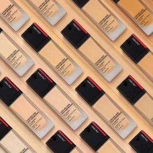 20% Off + Dealmoon Exclusive GiftEnding Soon: Shiseido Sychro Skin Self-Refreshing Foundation Sale