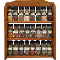 McCormick Gourmet 厨房调料24瓶+收纳架