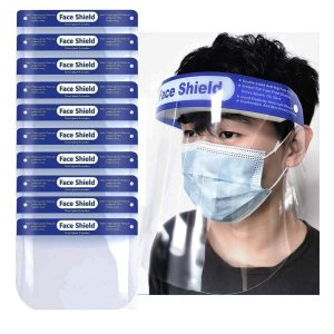 Suimiki 透明防雾防飞溅安全面罩 10个