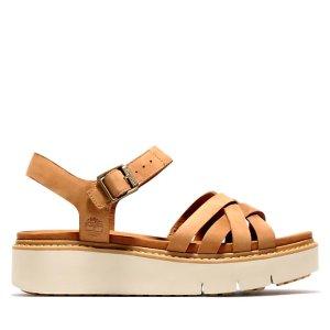 Timberland厚底凉鞋