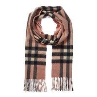 Burberry 经典格纹羊绒围巾
