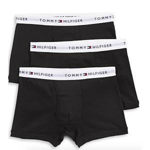 $33起(原价$44)Tommy Hilfiger 男士logo平角内裤 3件装 贴身衣物勤更换
