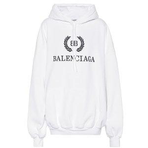 BalenciagaPrinted cotton 卫衣
