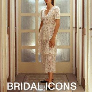 5折起+额外8折 连衣裙$196收Self-Protrait 连衣裙天花板 每一件小裙子穿上就是温柔本身