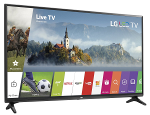 $547.99限今天:LG 49LJ5500 49吋1080p LED全高清智能电视(2017年版)