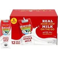 有机全脂牛奶 12瓶装