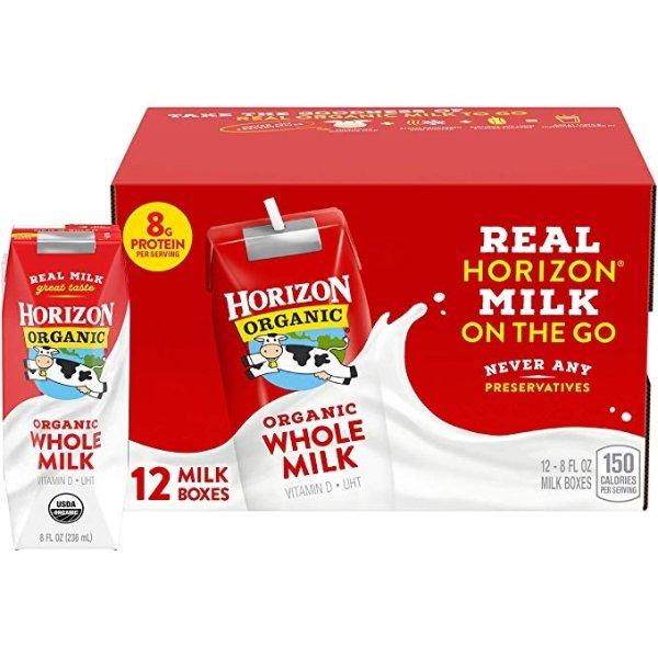 有机全脂牛奶 12罐