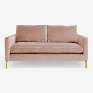 Soho Apartment Brass Leg Sofa