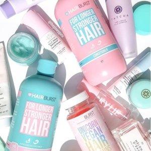 第二件半价+最高满享7.4折独家:Hairburst 英国明星护发品牌大促 脱发克星 秃头星人必备