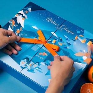 售价€335 男神许光汉同款上新:Atelier Cologne 欧珑 2020圣诞日历 惊喜开24件香水蜡烛