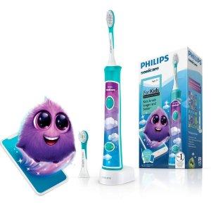 新人减€15HX6322/04 儿童电动牙刷