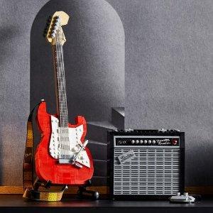 定价£89.99 10月1日上市新品预告:LEGO Ideas系列 芬德 Stratocaster 电吉他 21329