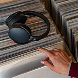 折后€71.9 舒适大耳Sennheiser HD 350BT 无线耳机热促 理想的通勤旅行伴侣