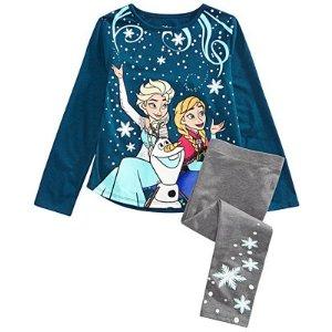 8折Disney 儿童服饰特卖 收冰雪奇缘套装啦