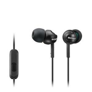 黑色 $4.99起翻新 SONY MDR-EX110AP入耳式监听耳机 四色可选