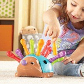 $10.99(原价$14.99)史低价:Learning Resources 幼儿益智刺猬玩具