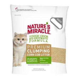 $16.78(原价$23.98) 10磅Nature's Miracle 防臭猫砂 结团快可马桶冲水易处理 养猫必备