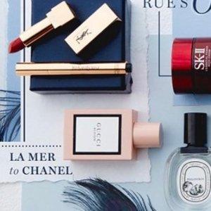 $9.99起 收Dior新款精华Rue La La 精选护肤美妆热卖 La Mer & Chanel都参加