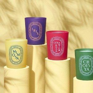 £49收限定款蜡烛+赠香氛礼包Diptyque 限量款春季糖果色蜡烛上新 又要剁手啦!