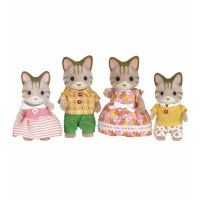 Calico critters Sandy Cat 家族