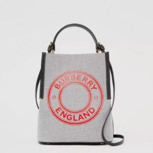 仅$799.78(原价$1450)Burberry Peggy灰色水桶包 5.5折骨折价收超值小爆款