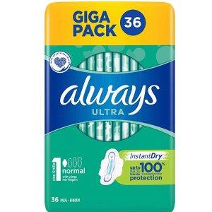 Always Ultra 1号 超吸收护翼卫生巾 36片 特价