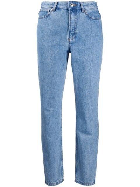 低腰牛仔裤