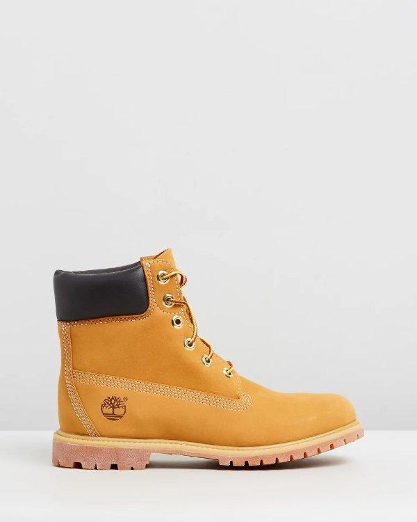 女款 经典6寸大黄靴