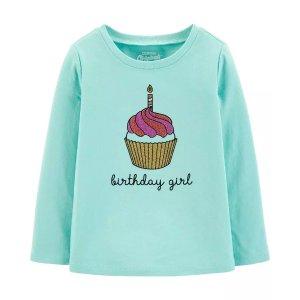 Oshkosh女小童T恤