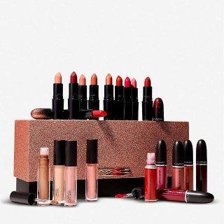 20只正装口红仅€179  每支仅€8.9MAC 口红圣诞豪华礼盒上市 每个女人都想拥有这一盒