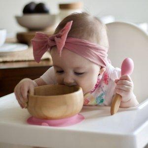 $12.75起+包邮Avanchy 儿童有机竹制、不锈钢制餐具7.5折促销