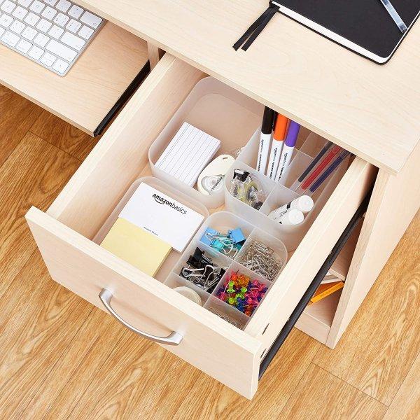 Amazon Basics 可叠放设计抽屉收纳整理盒3件装