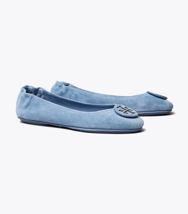 MINNIE 麂皮芭蕾鞋 多色