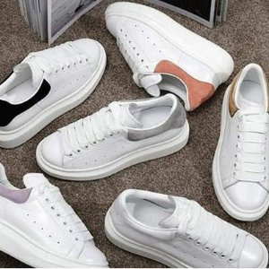 低至2折 麦昆小白鞋仅£232!