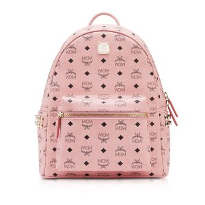 MCMSoft Pink Small-Medium Stark Backpack