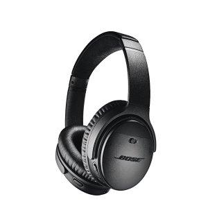 $317.7 (原价$460) 回国可退税Bose QC35 || 主动降噪无线耳机 黑色