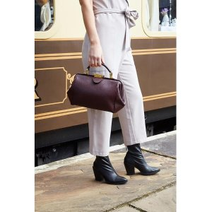 The Cambridge Satchel CompanyThe Sophie - Bordeaux Calf Grain