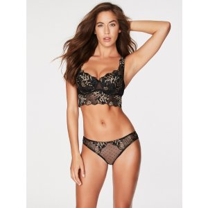 Save $10 When Spent $25Tonya Mesh And Lace Push Up Bra