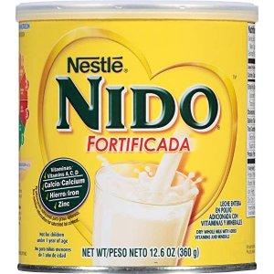 FORNIDOONIDO 雀巢升级配方全脂罐装奶粉,12.6 Oz