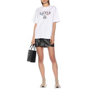 BalenciagaParis Flag cotton T-shirt