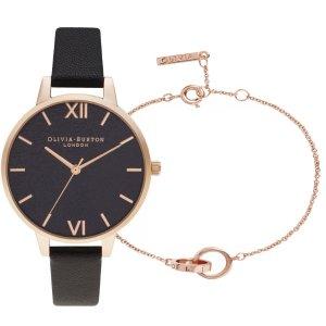 Olivia Burton手表+手链套组