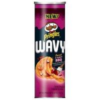 Pringles wavy 薯片 5.26盎司 三罐