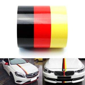 德系车专用 黑红黄拉花 55英尺