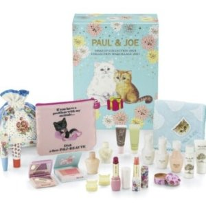 11月1日上市 速度收藏Paul & Joe 圣诞日历即将上市!超级可爱!猫奴必入!