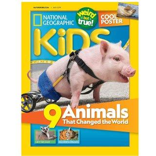 $15国家地理杂志 儿童版订购,一年共10册