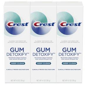 Crest 深层清洁牙龈保护牙膏 3支装 有效减轻炎症